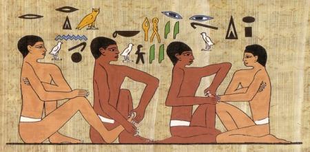 Historie pedikúry